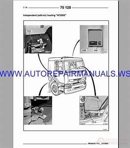 Renault Truck 70 Service Manual 1990