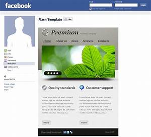 facebook corporate and business templates showcase With facebook company page template