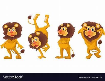 Cartoon Lions Clipart Clip Stickers Webcomicms