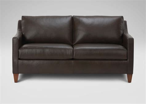 Sofas Loveseats by Monterey Leather Sofa Sofas Loveseats Ethan Allen