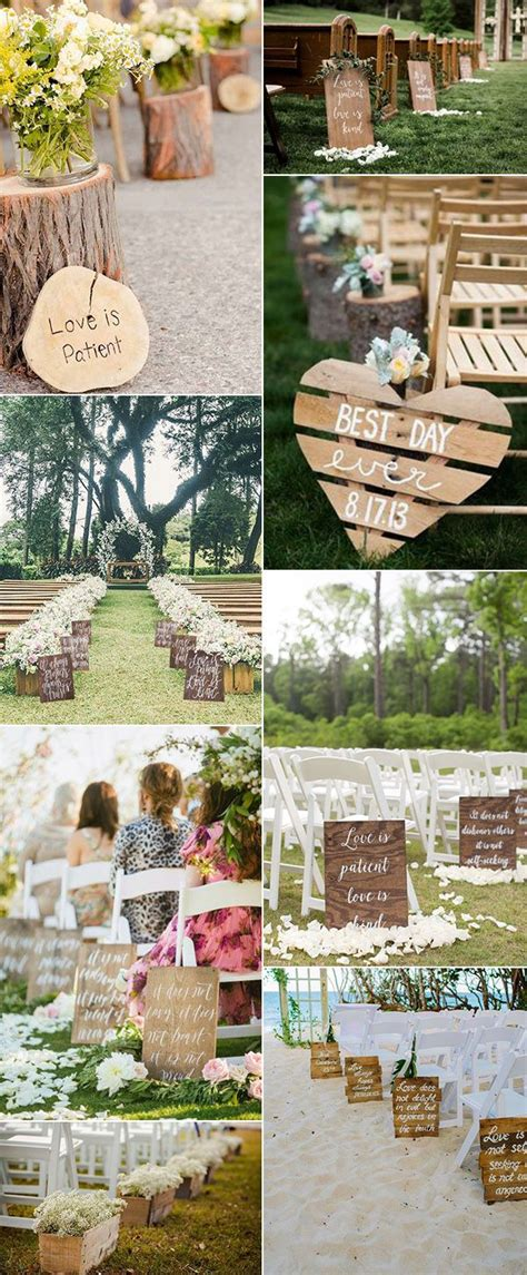 best 25 outdoor wedding aisles ideas on pinterest