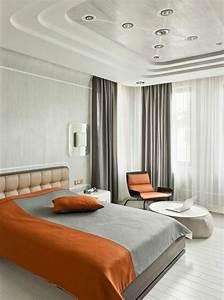 Faux Plafond Chambre À Coucher. faux plafond moderne dans la chambre ...