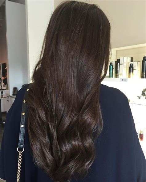 hair color ideas  brunettes   shades