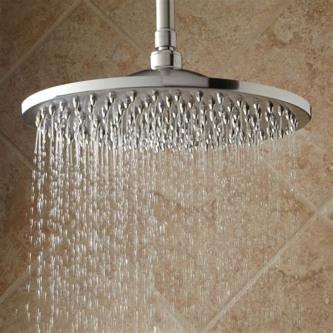 shower heads bisset thermostatic shower system dual shower heads and