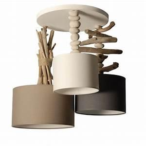 Suspension Bois Flotté : suspension en bois flott luminaire design loftboutik ~ Teatrodelosmanantiales.com Idées de Décoration