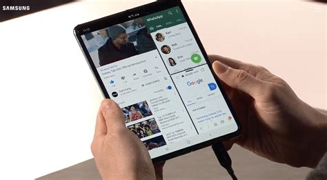 Samsung Officially Unveiled Its Revolutionary Foldable