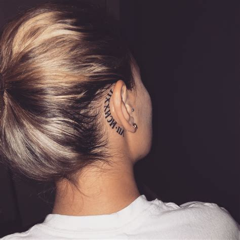 ear tattoos purple hearts  ear tattoos tattoos symbolic tattoos