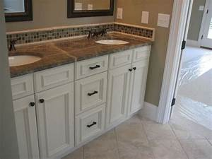 20 best white bathroom cabinet images on pinterest With kitchen colors with white cabinets with union jack wall art