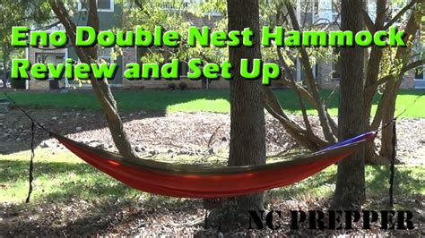 How To Put A Hammock Up by Eno Nest Hammock Proper Setup