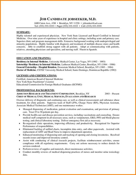 resume sle formats 28 images cms mechanical resume