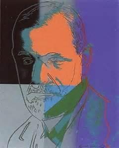 Sigmund Freud Andy Warhol