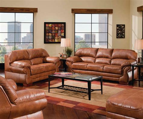 amusing leather living room furniture sets design