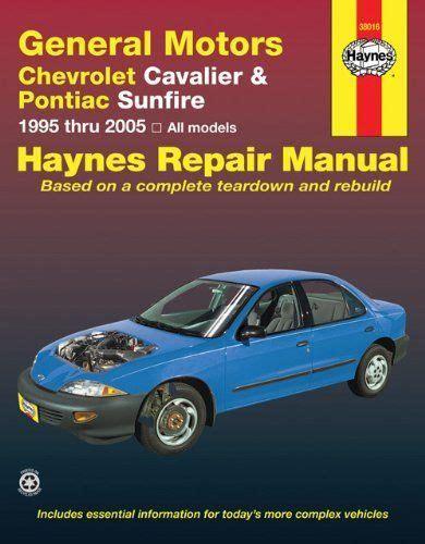 Chevrolet Cavalier Pontiac Sunfire Haynes