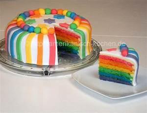 Rainbow Cake Rainbow Cake With White Chocolate Ganache