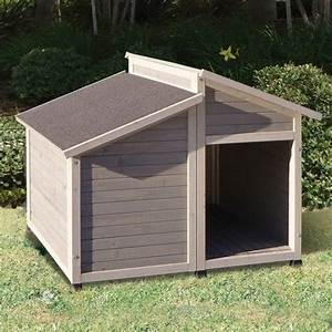 dog house precision pet products outback bungalow dog With outback dog kennels