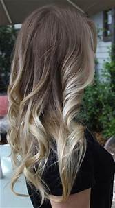 Dirty Blonde With Dark Brown Ombre Hair