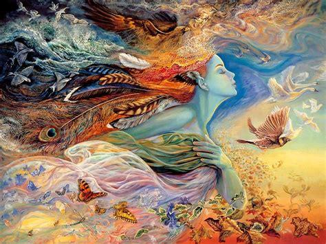 [fantasy Art] [painting] Josephine Wall