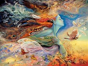 fantasy art painting josephine wall art for your With a beautiful painting on wall