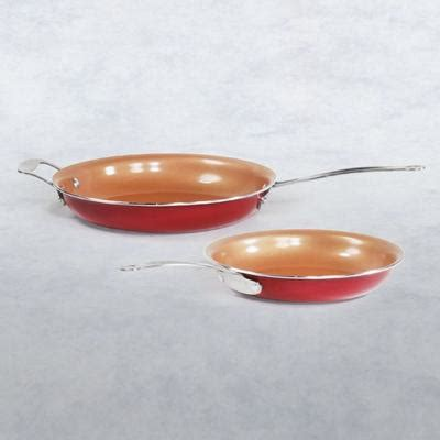 red copper pans skillets griddle cookware red copper  bulbhead
