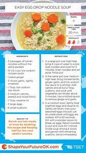 Easy Egg Drop Noodle Soup