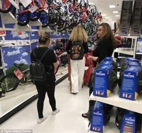 Beyonce And Blue Ivy Shop At Target In Southern California