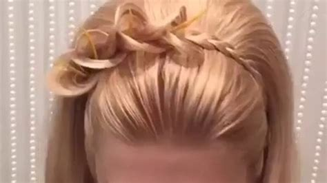 bridal easy hairstyle video fade haircut