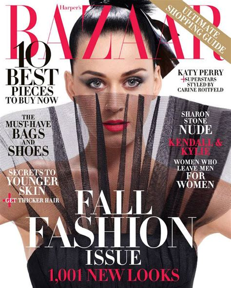 Katy Perry Harpers Bazaar From 2015 September Issue