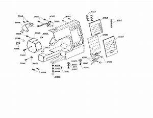 Singer Model 7442 Electronic Sewing Machines Genuine Parts