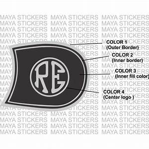 Re Emblem Royal Enfield Fuel Tank Sticker For Royal