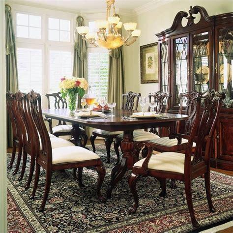 American Drew Cherry Grove 9 Piece Dining Set In Antique