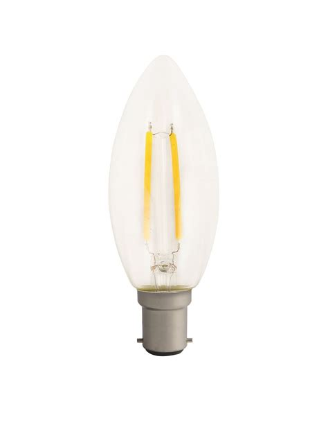 luceco led filament candle vintage fashioned retro