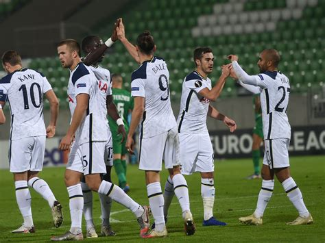 Tottenham Hotspur player ratings vs Ludogorets - The 4th ...