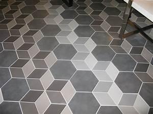 imitation carreau ciment en relief effet 3d natucer With carrelage effet carreau ciment
