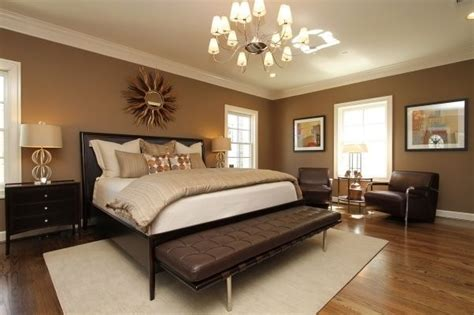 Bedroom Decor Ideas With Brown Furniture by Master Bedroom Relaxing In Warm Neutrals And Luxurious