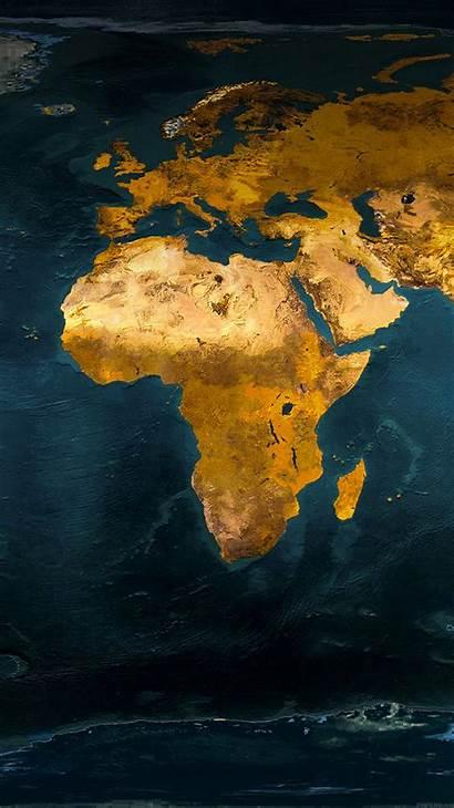 Europe Africa Iphone Wallpapers African Phone Worldmap