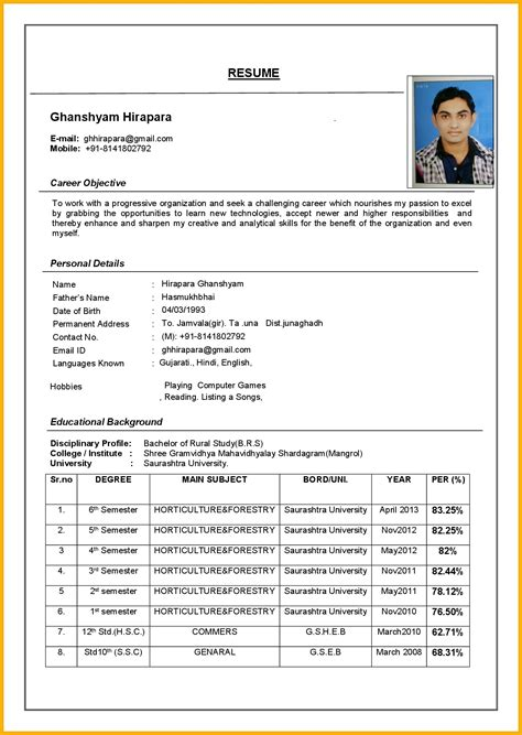 Curriculum Vitae Format by Curriculum Vitae Sle Letters Free Sle Letters