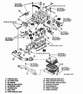Where Is Cylinder 3 On A 2004 Mazda V6 Dohc 24 Valve Engine  Front Or Back