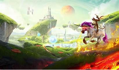 Fusion Trials Unicorn Awesome Max Level Riding