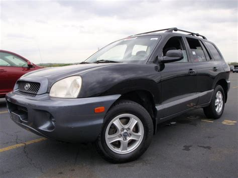 how to sell used cars 2003 hyundai santa fe electronic valve timing cheapusedcars4sale com offers used car for sale 2003 hyundai santa fe gl sport utility 4 990