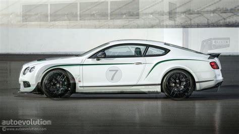 Bentley Continental Gt3-r Vs Gt3 Racecar Comparison