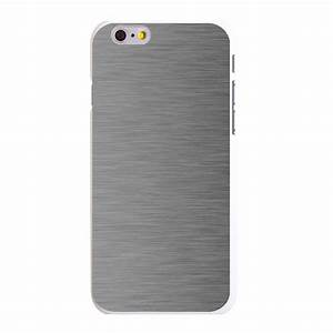 Custom Hard Case Cover for iPhone 5S 6 6S PLUS Grey Silver ...