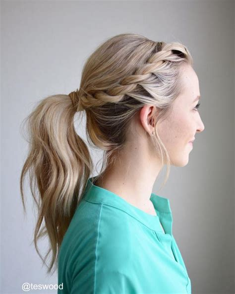 25 best ideas about easy braided hairstyles on pinterest