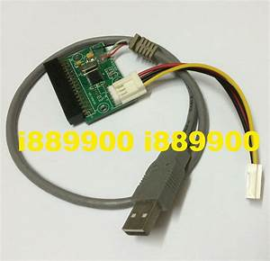 34pin Floppy Connector To Usb Adapter Cable  34 Pin
