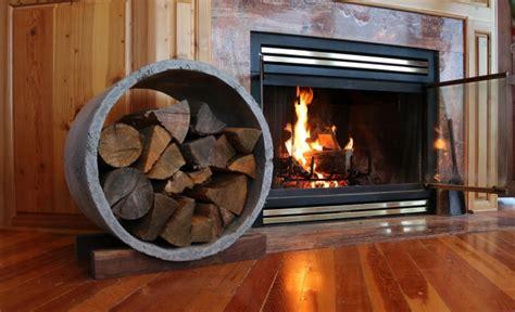 modern concrete log holder diy projects  pete