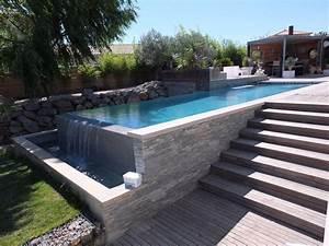 Piscine A Débordement : piscine d bordement cr ation piscines ~ Farleysfitness.com Idées de Décoration