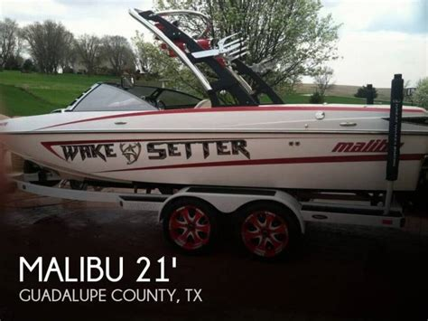 Second Hand Malibu Boats For Sale by Malibu Wakesetter 21 Vlx In Florida Open Boats Used