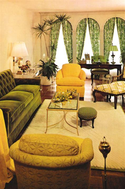 Retro Living Room Yellow by 1970s Living Room Decor 1970s Decor Room