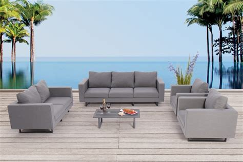 Lounge Polster Wetterfest by Lounge Polster Outdoor Outdoor Lounge Sofa Mit Tisch