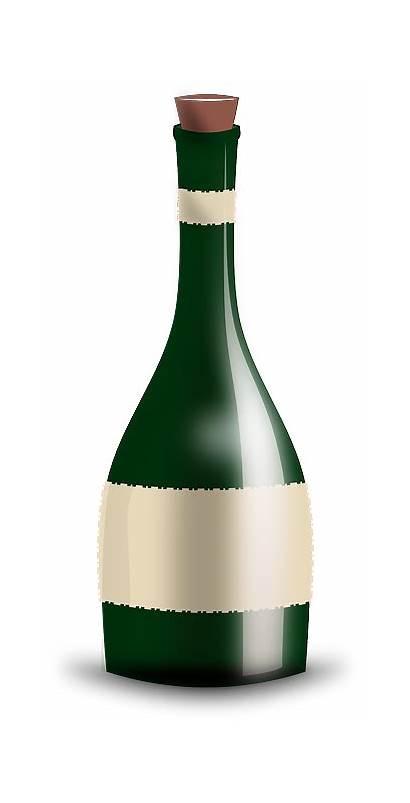 Champagne Bouteille Wine Botella Vino Clipart Pixabay