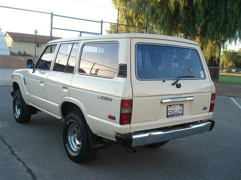 1984 Toyota Land Cruiser by 1984 Toyota Land Cruiser Fj60 62 40 80 Tlc Restored 5speed